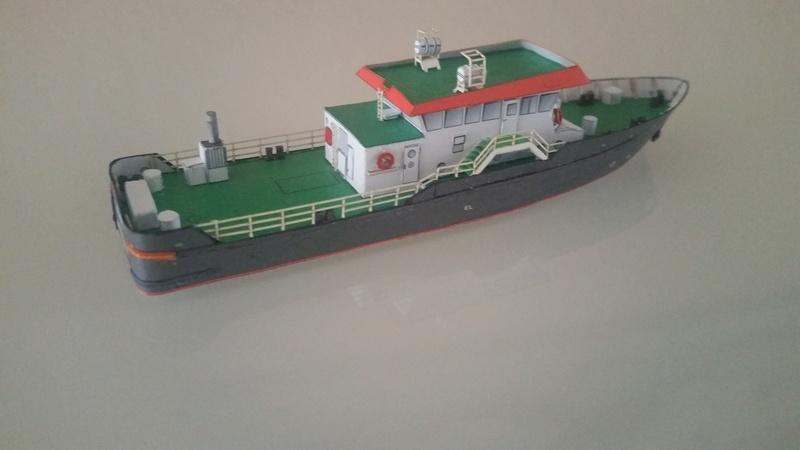 Peilschiff Zenit  HMV  1:250 gebaut von Paperfreak 20180116