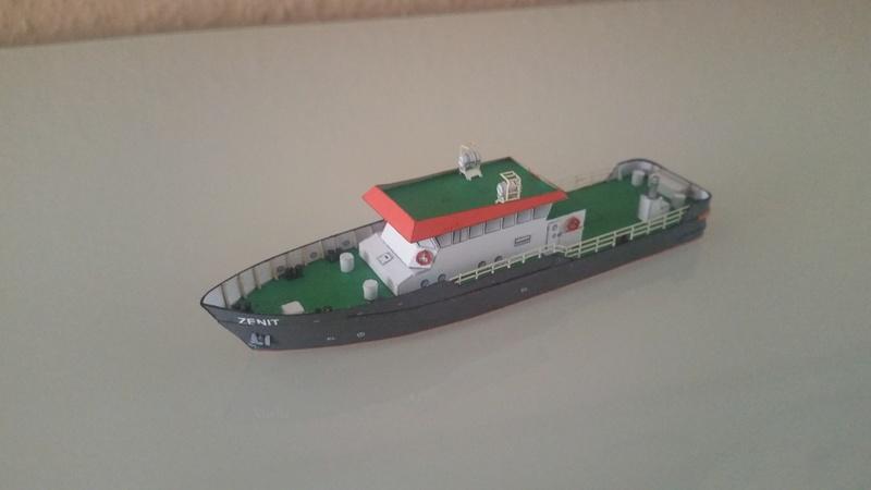 Peilschiff Zenit  HMV  1:250 gebaut von Paperfreak 20180117