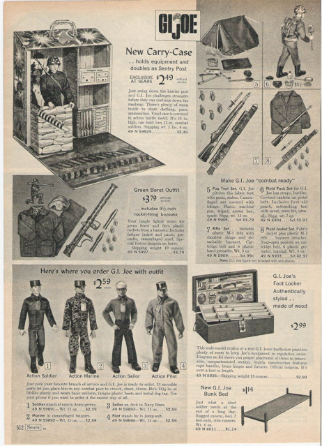 1960-70's catalog pages featuring Gijoe etc. 1966_s18