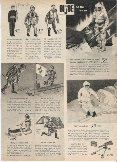 1960-70's catalog pages featuring Gijoe etc. 1966_s19