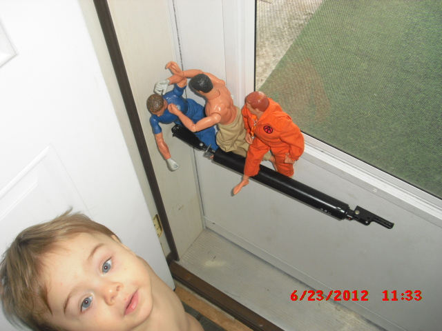 Grandson & Gijoe...added pics Cimg5512