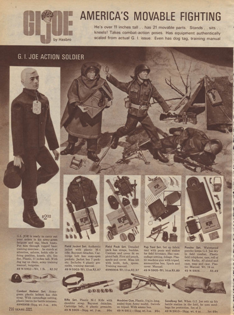 1960-70's catalog pages featuring Gijoe etc. Sears_13