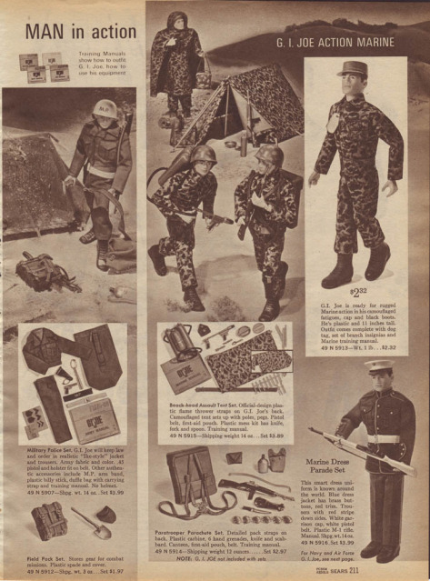 1960-70's catalog pages featuring Gijoe etc. Sears_15
