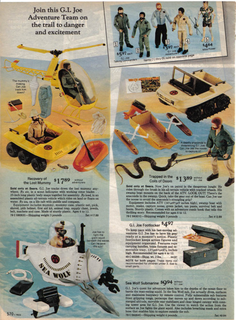 1960-70's catalog pages featuring Gijoe etc. Searsc11