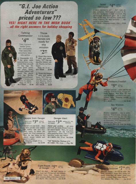 1960-70's catalog pages featuring Gijoe etc. Searsw12