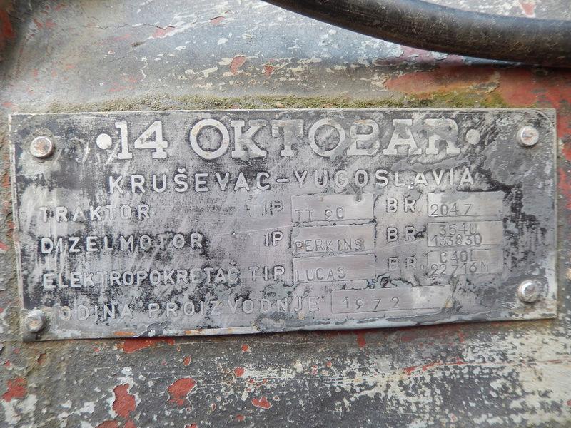 Traktor 14. Oktobar Ratar 90 DVC 792_7_10