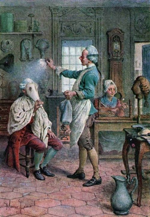 Coiffures du XVIIIeme: poufs, postiches, bonnets et chapeaux - Page 19 B285c510