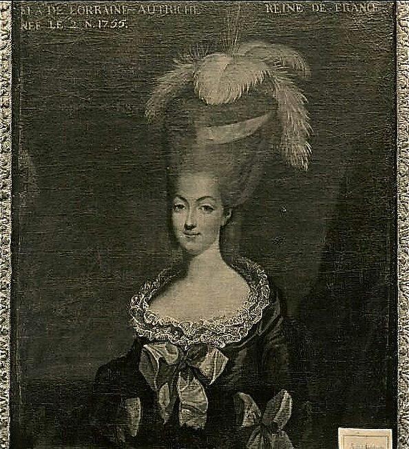 Marie-Antoinette et ses parents au Château de Lunéville Roemis12