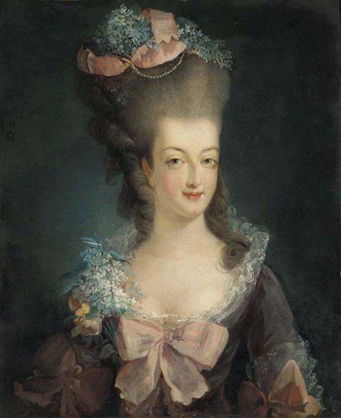 Marie-Antoinette et ses parents au Château de Lunéville Tumblr11