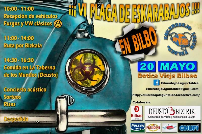 VI Plaga de Eskarabajos en Bilbao 2018 - 20 mayo Plaga10