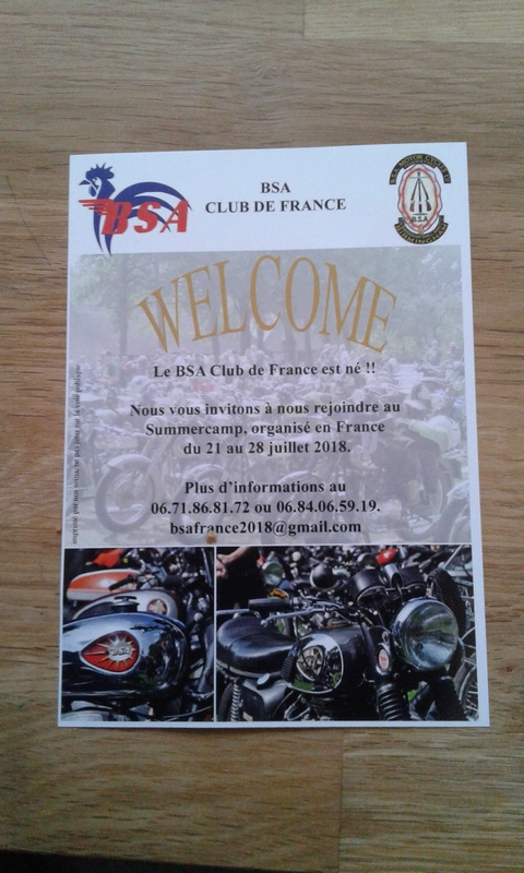 BSA club France?? - Page 6 20171212