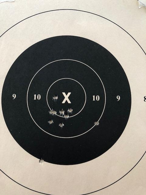 "6"" Pardini + 1st RF Target + Target w/Horton grips 99-6x10"