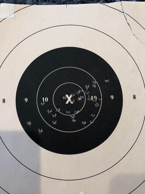 "6"" Pardini + 1st RF Target + Target w/Horton grips Dhgrip10"