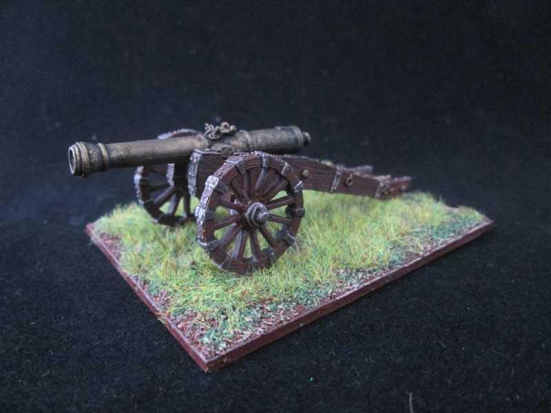 Quelques unités britannique pour Mousquets & Tomahawk ! Artill10