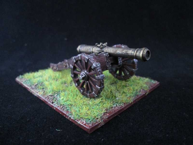 Quelques unités britannique pour Mousquets & Tomahawk ! Artill11