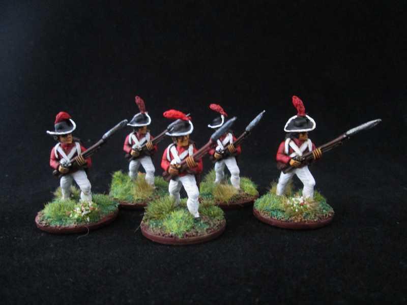 Quelques unités britannique pour Mousquets & Tomahawk ! Inf_le14