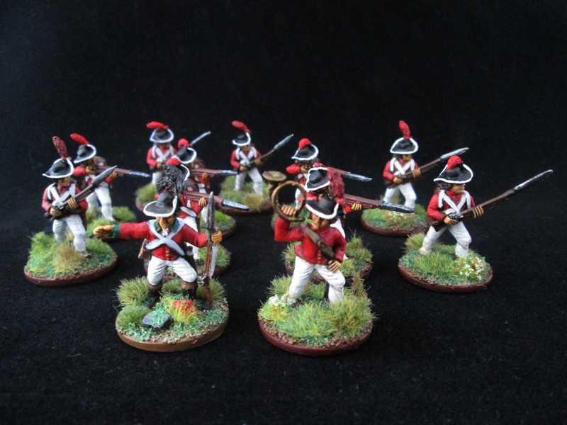 Quelques unités britannique pour Mousquets & Tomahawk ! Inf_le18