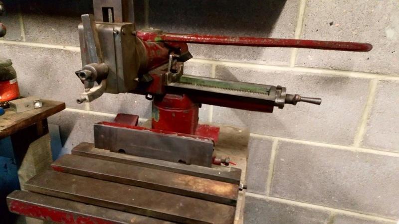 got a new arc welder an oxford oil welder Phs210