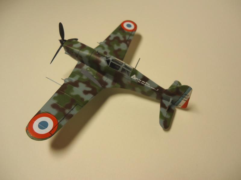 Morane Saulnier MS406  Dsc01110