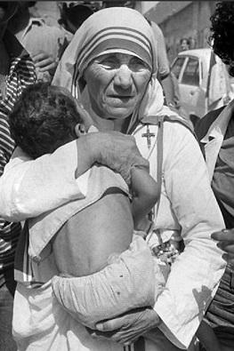 """*** Chant  """" Sainte Mère Teresa """" par le Père Elie *** Myre_t10"""