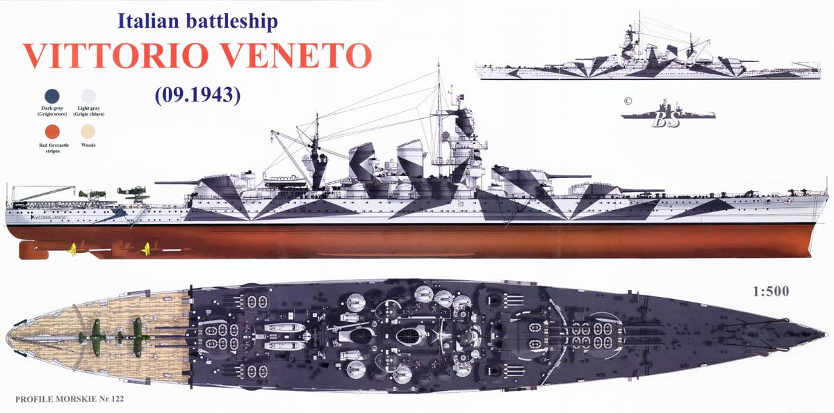 Vittorio Vénéto 1/700 trumpeter Maj le 08/06/2018 07-52510