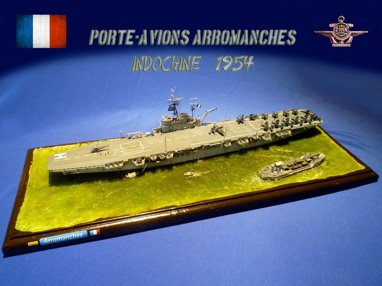 Porte-avions Arromanches Indochine 1954 Arroma19