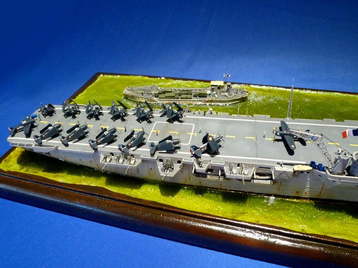 Porte-avions Arromanches Indochine 1954 Arroma49