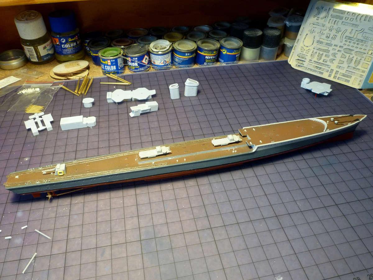 Montage du Contre-torpilleur Marceau 1/400  - Page 2 Marcea21