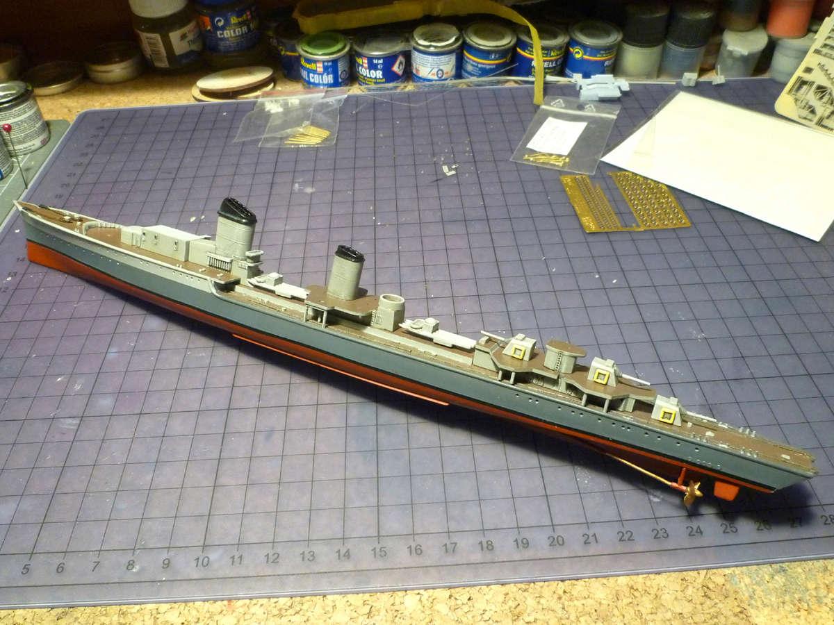 Montage du Contre-torpilleur Marceau 1/400  - Page 2 Marcea24