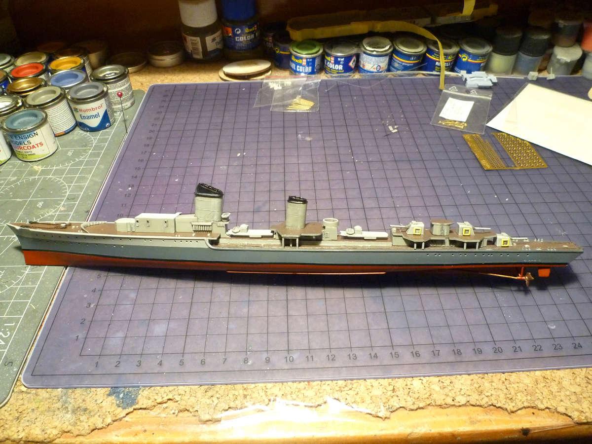 Montage du Contre-torpilleur Marceau 1/400  - Page 2 Marcea25