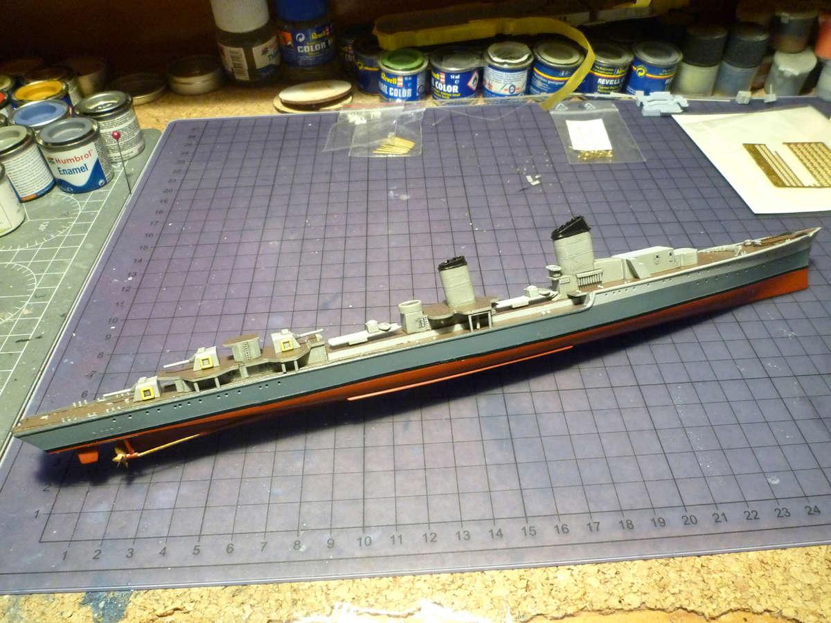 Montage du Contre-torpilleur Marceau 1/400  - Page 2 Marcea26