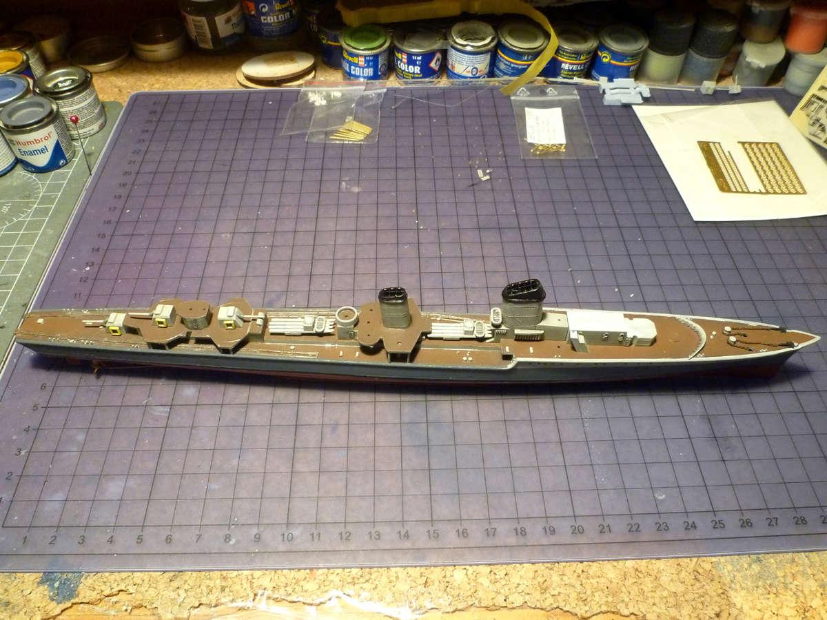 Montage du Contre-torpilleur Marceau 1/400  - Page 2 Marcea27