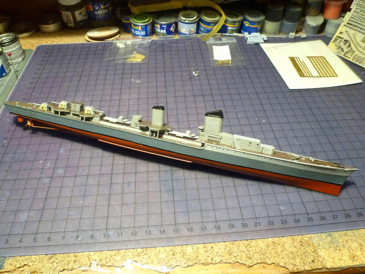 Montage du Contre-torpilleur Marceau 1/400  - Page 2 Marcea29