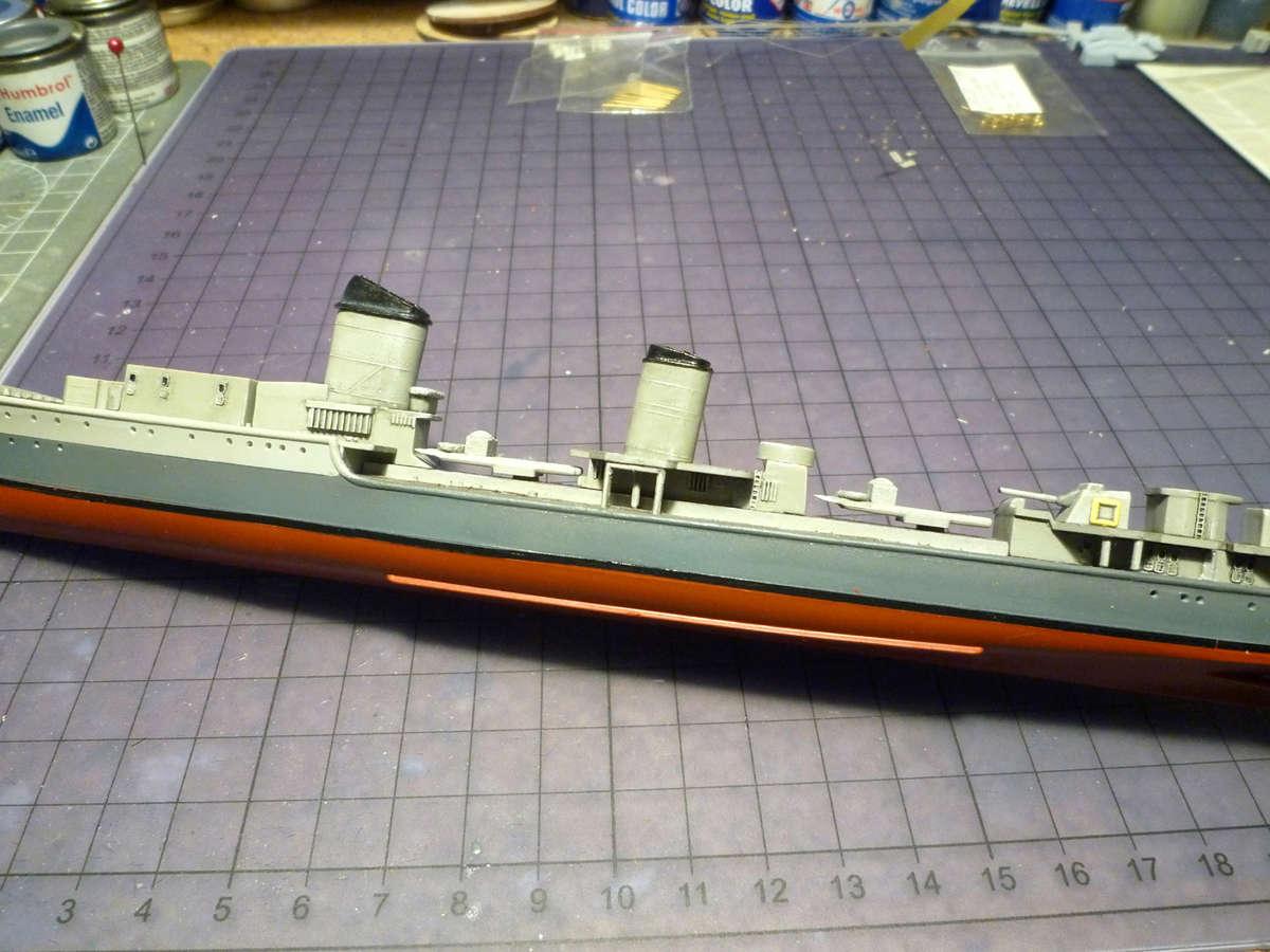 Montage du Contre-torpilleur Marceau 1/400  - Page 2 Marcea30