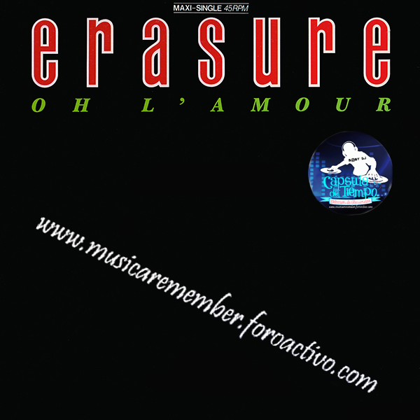 Erasure - Oh L'Amour (Germany 12'' Vinil)[1986] {FLAC} Fronta16