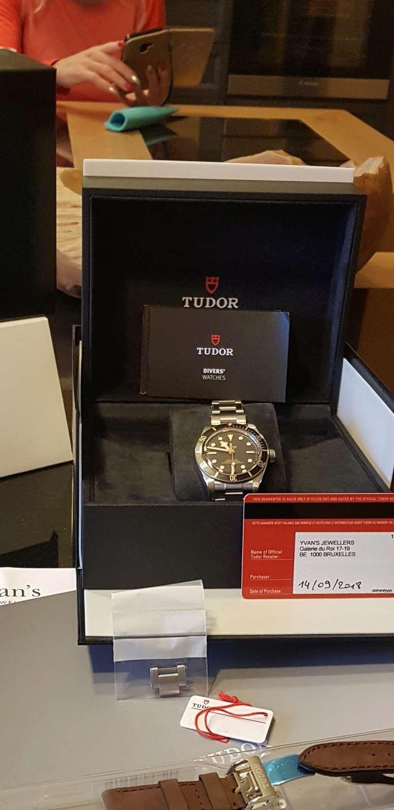 [Vendue] Tudor Black Bay 58 acier et cuir 3200€ 20181210