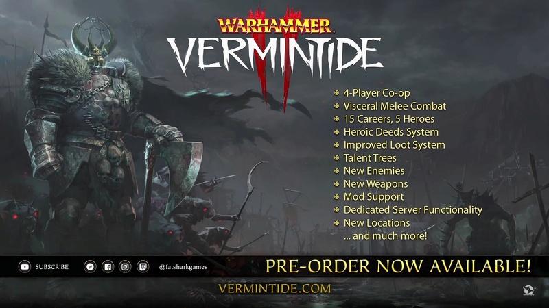 Les nouveaux jeux vidéos pour Warhammer - Page 4 Vermin11