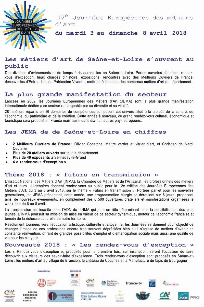 Inauguration Brancion & Les métiers d'art au village de Brancion 7 et 8 avril 2018 2_copi10