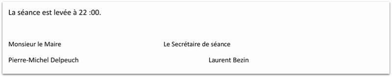 Compte rendu de la réunion du Conseil Municipal de La Chapelle-sous-Brancion  Date : 3 janvier 2018 à 20h30 310