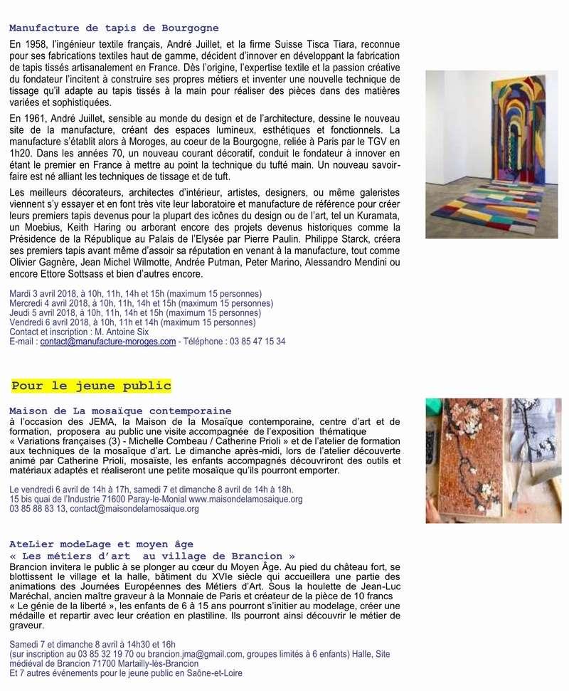 Inauguration Brancion & Les métiers d'art au village de Brancion 7 et 8 avril 2018 4_copi10