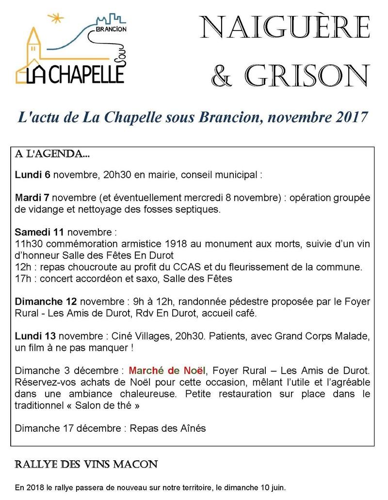 Naiguère et Grison novembre - 2017 La Chapelle-sous-Brancion Novemb10