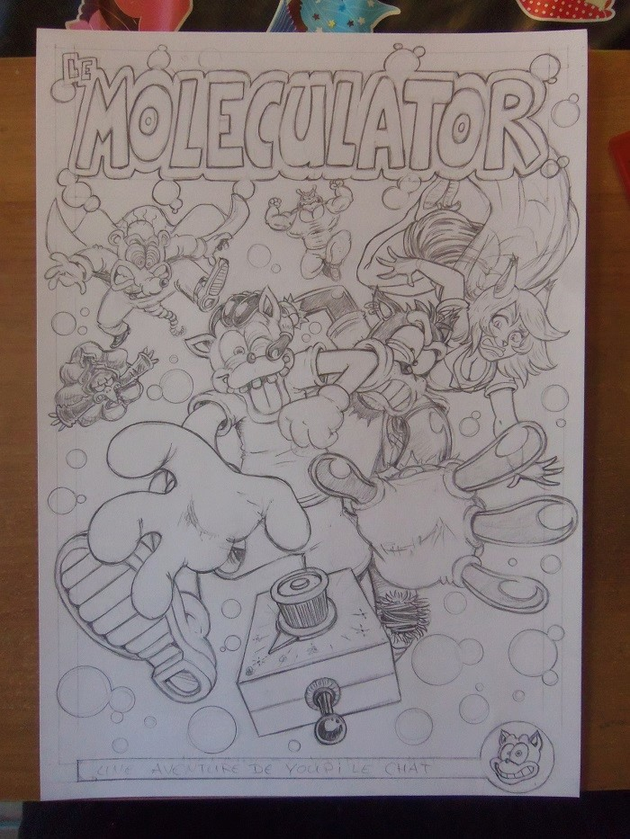 [Projet BD] Le Moleculator, une aventure de Youpi le Chat - Page 3 101_6610