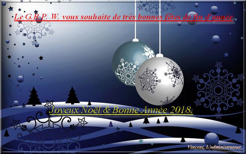 Bonnes fêtes de fin d'année à tous les membres Christ14