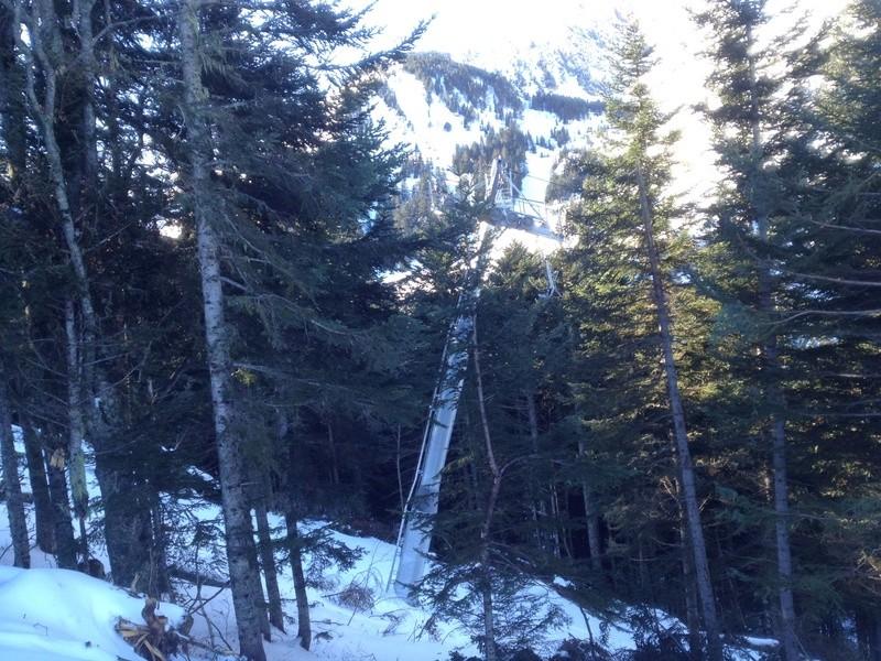 Télésiège fixe 4 places (TSF4) Savis II Photo136
