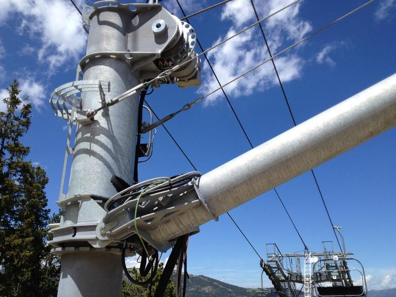 Supports Technoalpin: Bras, tour & lift Photo141