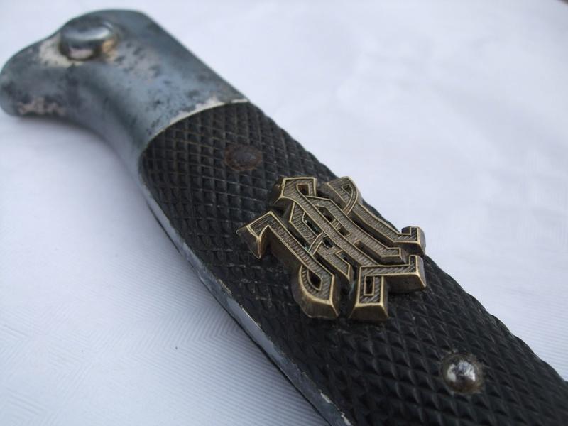 Insigne d'épaulette LAH sur une baio.. Lah_1310
