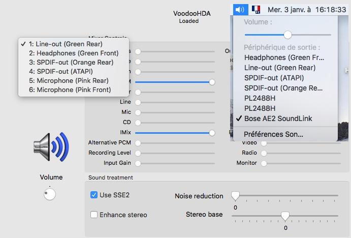 voodoohda - VoodooHDA macOS High Sierra Voodoo10