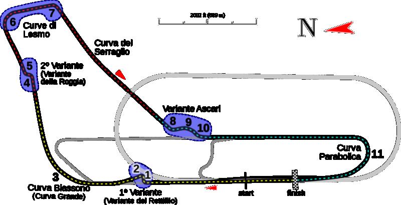 [R8 LMS 2016] Manche 4 : 13/06/18 Monza 2000px10