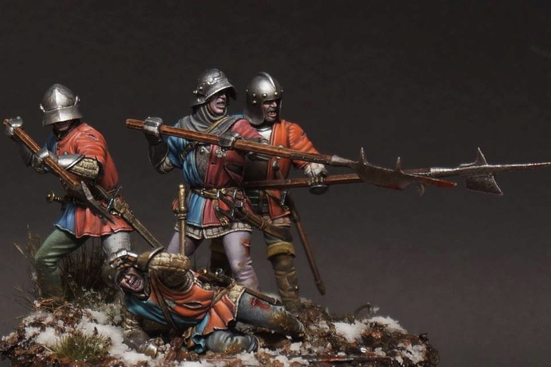 War of the Roses. English infantry. 29216610