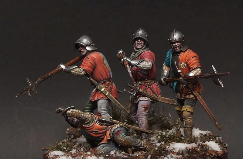 War of the Roses. English infantry. 29243810